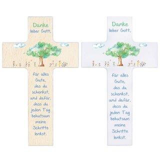 Kinderkreuz Danke lieber Gott