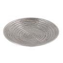"""Kerzenleuchter """"Spirale"""", silber, 12cm"""