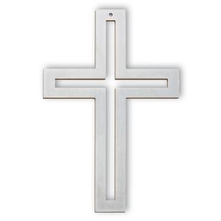 Kreuz Edelstahl Kreuz 18cm