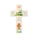 Kinderkreuz mit Tonengel  Lieber Engel