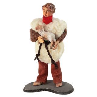 RuCo Hirt Jost mit Lamm auf dem Arm