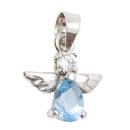 Silberschmuck Mein kleiner Engel Blau